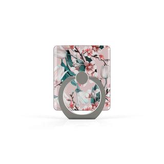 Telefoon Ring houder / Ring standaard universeel - Kersenbloesem print
