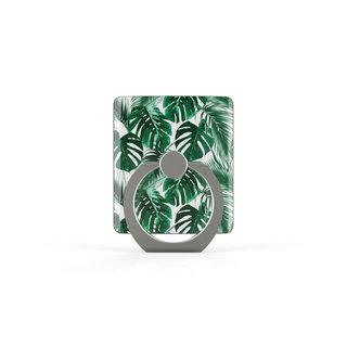 Telefoon Ring houder / Ring standaard universeel - Planten print