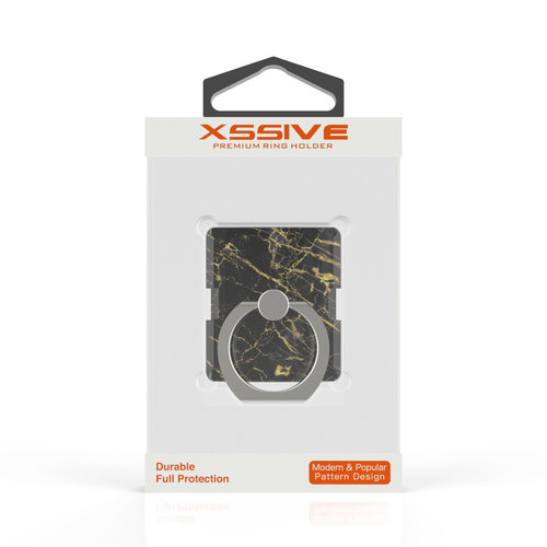Xssive Telefoon Ring houder / Ring standaard universeel - Port Laurant Marmer print