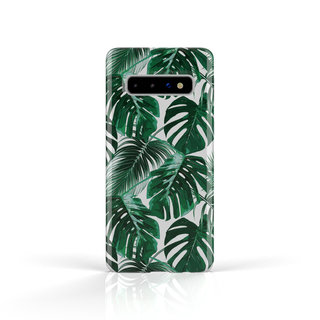 Fashion Case Samsung Galaxy S10 Plus hoesje - Planten print
