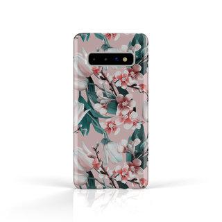 Fashion Case Samsung Galaxy S10 hoesje - Kersenbloesem print