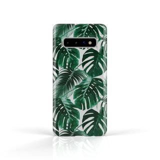 Fashion Case Samsung Galaxy S10 hoesje - Planten print