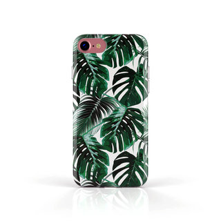 Fashion Case Apple iPhone 8 hoesje - Planten print