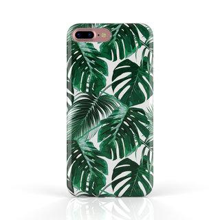 Fashion Case Apple iPhone 7 Plus hoesje - Planten print