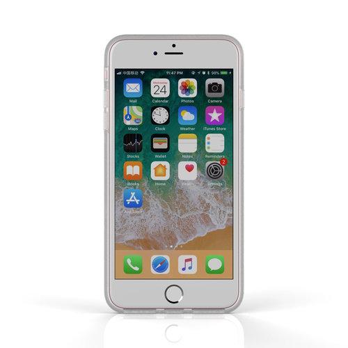 Xssive Fashion Case Apple iPhone 8 Plus hoesje - Roos print