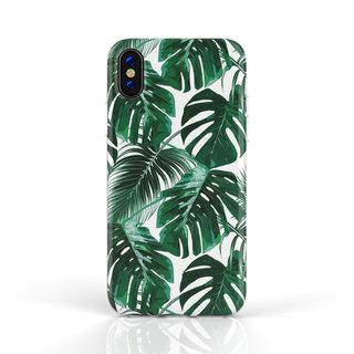 Fashion Case Apple iPhone XR hoesje - Planten print