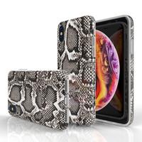 Xssive Fashion Case Apple iPhone XR hoesje - Slangen print