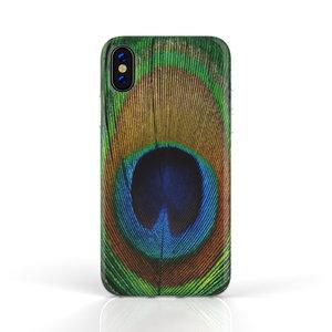 Xssive Fashion Case Apple iPhone X / XS hoesje - Pauw print
