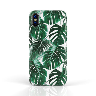 Fashion Case Apple iPhone X / XS hoesje - Planten print