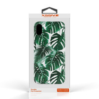 Xssive Fashion Case Apple iPhone X / XS hoesje - Planten print