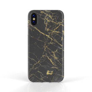 Fashion Case Apple iPhone X / XS hoesje - Port Laurant Marmer print