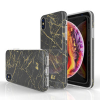 Xssive Fashion Case Apple iPhone X / XS hoesje - Port Laurant Marmer print