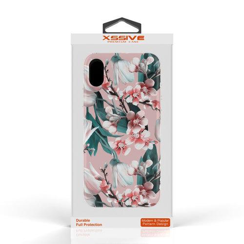 Xssive Fashion Case Apple iPhone XS Max hoesje - Kersenbloesem print