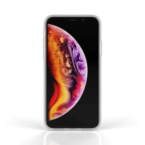 Xssive Fashion Case Apple iPhone XS Max hoesje - Roos print