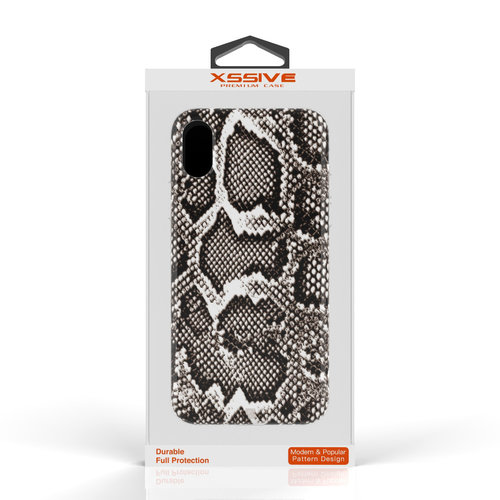 Xssive Fashion Case Apple iPhone XS Max hoesje - Slangen print