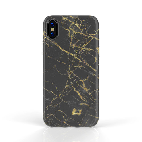 Xssive Fashion Case Apple iPhone XS Max hoesje - Port Laurant Marmer print