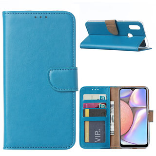 Bookcase Samsung Galaxy A10S hoesje - Blauw