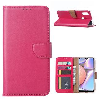 Bookcase Samsung Galaxy A10S hoesje - Roze