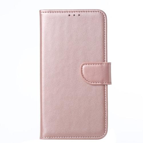 Bookcase Samsung Galaxy A10S hoesje - Rosé Goud