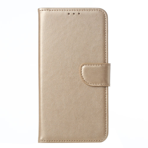 Bookcase Samsung Galaxy A20S hoesje - Goud