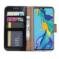 Bookcase Huawei Mate 30 Lite hoesje - Zwart