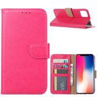 Bookcase Apple iPhone 11 hoesje - Roze