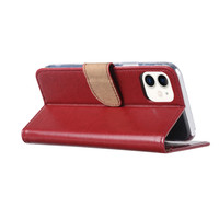 Bookcase Apple iPhone 11 hoesje - Bordeauxrood