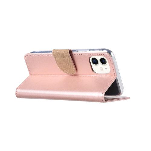 Bookcase Apple iPhone 11 hoesje - Rosé Goud