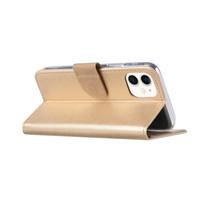 Bookcase Apple iPhone 11 hoesje - Goud
