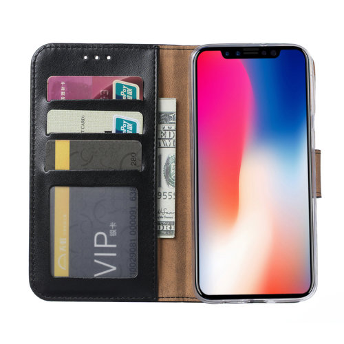 Bookcase Apple iPhone 11 hoesje - Zwart