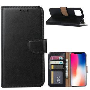 Bookcase Apple iPhone 11 hoesje - Zwart