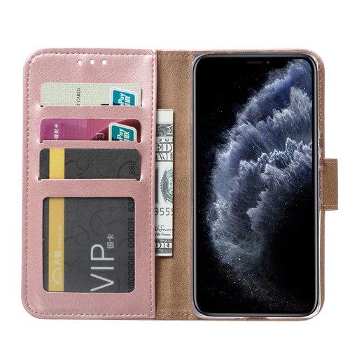 Bookcase Apple iPhone 11 Pro hoesje - Rosé Goud
