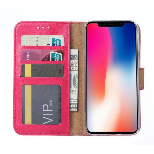 Bookcase Apple iPhone 11 Pro hoesje - Roze