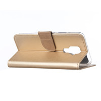 Bookcase Huawei Mate 30 Lite hoesje - Goud