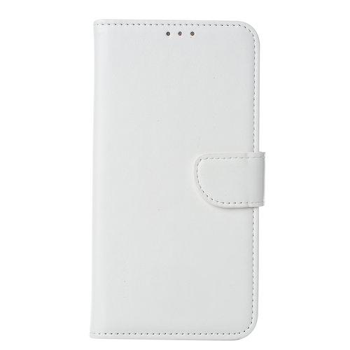 Bookcase Huawei Mate 30 Lite hoesje - Wit