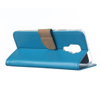 Bookcase Huawei Mate 30 Lite hoesje - Blauw