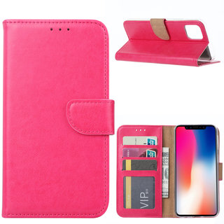 Bookcase Apple iPhone 11 Pro Max hoesje - Roze