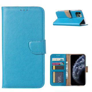 Bookcase Apple iPhone 11 Pro Max hoesje - Blauw