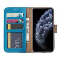 Bookcase Apple iPhone 11 Pro Max hoesje - Blauw