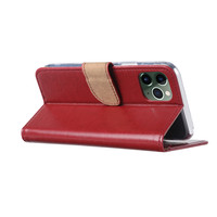 Bookcase Apple iPhone 11 Pro Max hoesje - Bordeauxrood