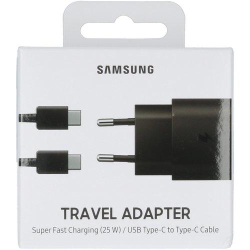 Samsung Galaxy Adaptive Super Fast Charging Oplader met Type-C naar Type-C kabel - Zwart