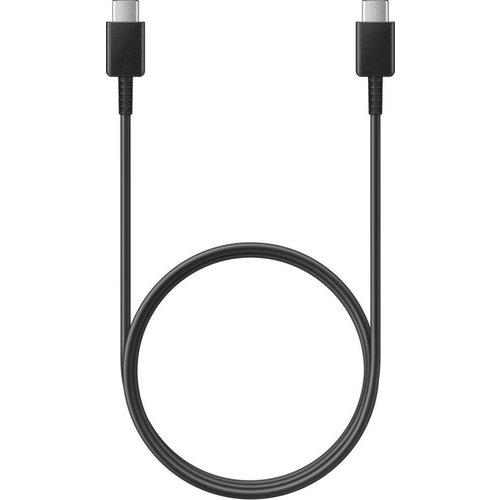 Samsung Originele USB-C / Type-C naar USB-C / Type-C oplaadkabel EP-DA705BBE 1 meter - Zwart