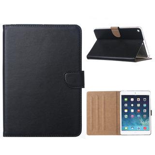 Luxe Lederen Standaard hoes voor de Apple iPad mini 5 (2019) 7.9 inch - Zwart