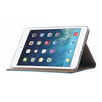 Luxe Lederen Standaard hoes voor de Apple iPad mini 5 (2019) 7.9 inch - Blauw