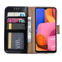 Bookcase Samsung Galaxy A21 hoesje - Zwart