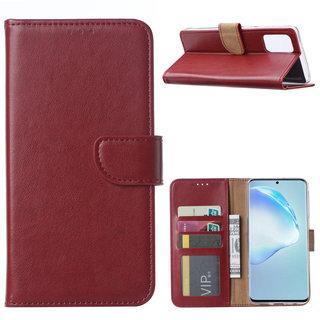 Bookcase Samsung Galaxy S20 Plus hoesje - Bordeauxrood