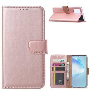 Bookcase Samsung Galaxy S20 Plus hoesje - Rosé Goud