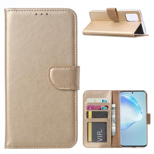 Bookcase Samsung Galaxy S20 Plus hoesje - Goud