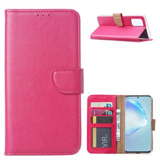 Bookcase Samsung Galaxy S20 Plus hoesje - Roze