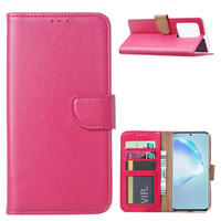 Bookcase Samsung Galaxy S20 Ultra hoesje - Roze